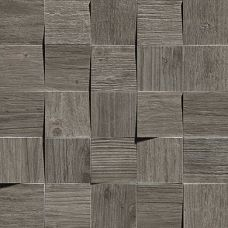 AMV4 Axi Grey Timber Mosaico 3D 35x35