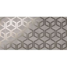 Marvel Grey Fleury Hexagon 40x80