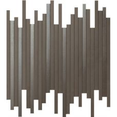 9DLB Dwell Brown Leather Mosaico L 30,5X26