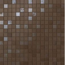 9DQB Dwell Brown Leather Mosaico Q 30,5х30,5